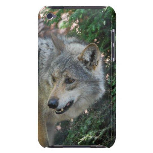 Caso de acecho de iTouch del lobo iPod Touch Carcasa