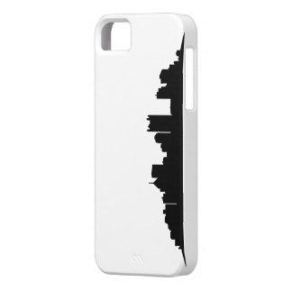 Caso de acero del horizonte iPhone 5 carcasa