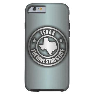 """Caso de acero del iPhone 6 de """"Tejas"""" (Azul-Gris) Funda De iPhone 6 Tough"""