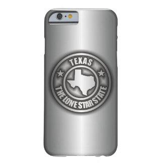 """Caso de acero del iPhone 6 de """"Tejas"""" Funda De iPhone 6 Barely There"""