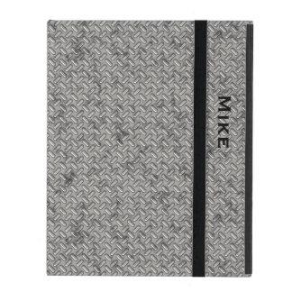 Caso de acero sellado metálico del iPad de la mira