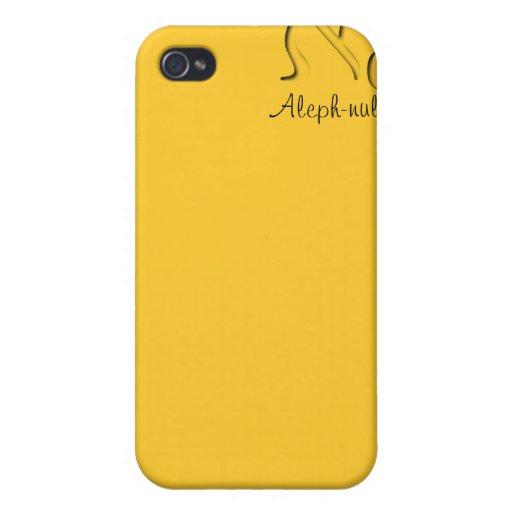 Caso de Aleph iPhone4 del ciervo - transparente iPhone 4 Carcasas