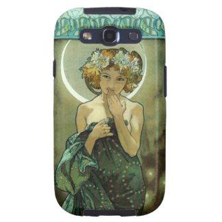 Caso de Alfonso Mucha Clair De Lune Galaxy S3 Samsung Galaxy S3 Fundas
