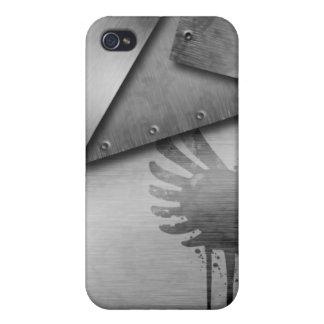 Caso de aluminio del iPhone iPhone 4 Carcasas