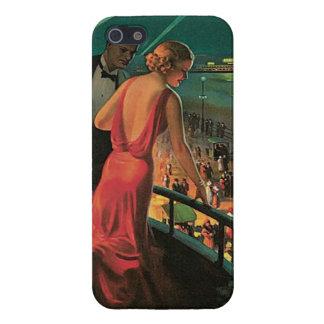 Caso de Atlantic City del vintage iPhone 5 Carcasas
