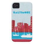 Caso de Baltimore iPhone4/4s de la serie del viaje iPhone 4 Coberturas