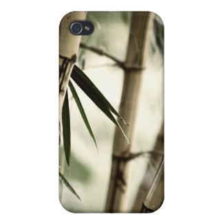 Caso de bambú del iPhone 4 iPhone 4/4S Carcasas
