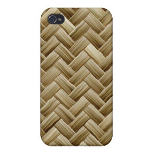 Caso de bambú del iPhone 4 iPhone 4 Fundas