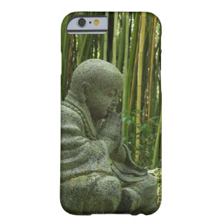 Caso de bambú del iPhone 6 de Buda Funda Para iPhone 6 Barely There