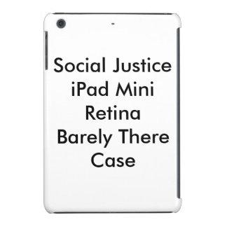 Caso de Barely There de la retina del iPad de la Funda De iPad Mini