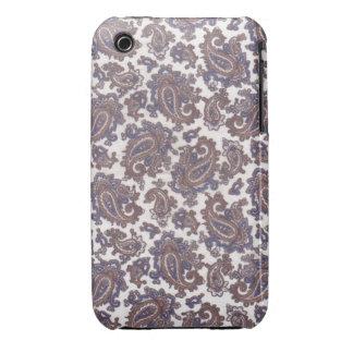 Caso de Barely There del iPhone 3 del blanco y del iPhone 3 Case-Mate Carcasas