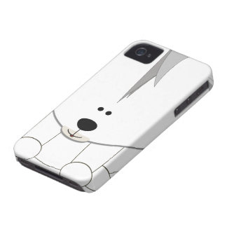 Caso de Barely There del iPhone 4 de Cub del oso p iPhone 4 Funda