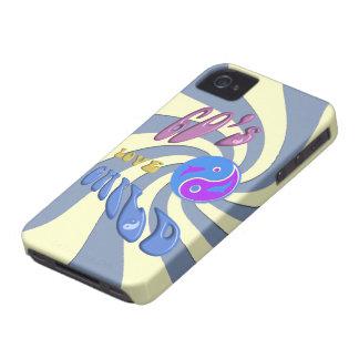 caso de Barely There del iPhone 4 del hijo natural iPhone 4 Case-Mate Protector