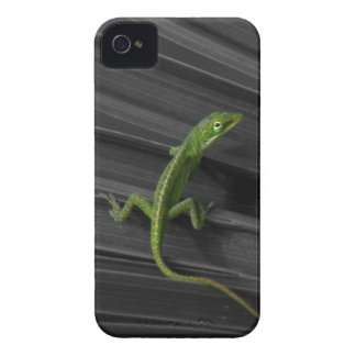 Caso de Barely There del iPhone 4 del lagarto verd Case-Mate iPhone 4 Carcasas
