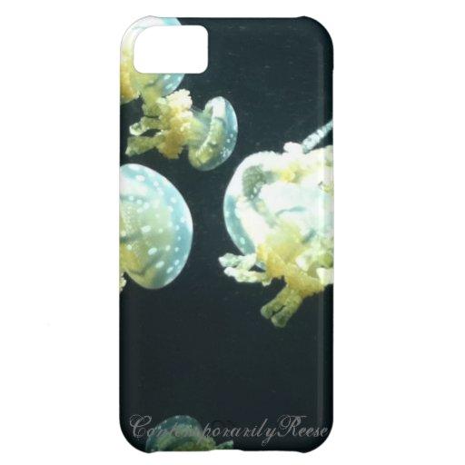 Caso de Barely There del iPhone 5 de las medusas