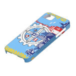 Caso de Barely There del iPhone 5 de Milwaukee Wis iPhone 5 Protectores