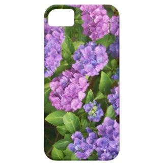 caso de Barely There del iPhone 5 rosa Hydrangea iPhone 5 Case-Mate Carcasa