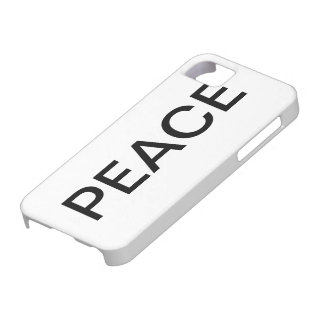 Caso de Barely There del iPhone de la PAZ iPhone 5 Cobertura