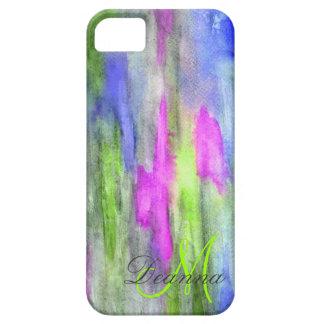 Caso de Barely There Iphone 5 del arco iris del éb iPhone 5 Cárcasa