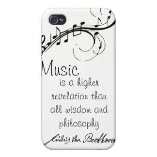 Caso de Beethoven iPhone 4 Funda