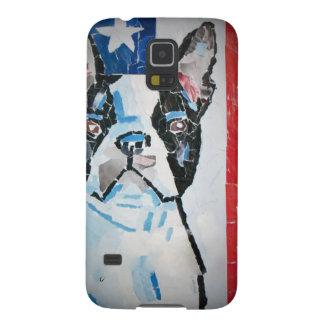 Caso de Boston Terrier Fundas Para Galaxy S5