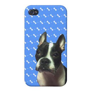 Caso de Boston Terrier iPhone4 iPhone 4/4S Fundas