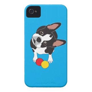 Caso de Boston Terrier IPhone Carcasa Para iPhone 4 De Case-Mate