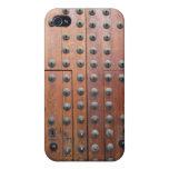 Caso de bronce antiguo del iphone 4 de la puerta iPhone 4 cárcasa