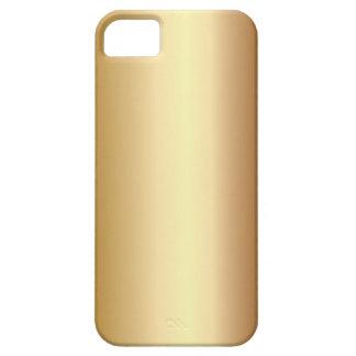 Caso de bronce elegante del iPhone 5 de la mirada iPhone 5 Carcasa