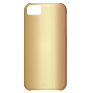 Caso de bronce elegante del iPhone 5 de la mirada  Funda Para iPhone 5C