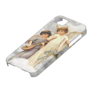 Caso de BT del iPhone 5 de los ángeles del navidad iPhone 5 Carcasa