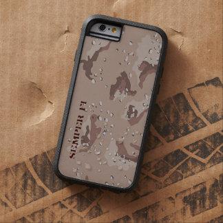 Caso de Camo del desierto Funda Para iPhone 6 Tough Xtreme