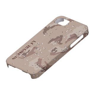 Caso de Camo I5 del desierto iPhone 5 Fundas