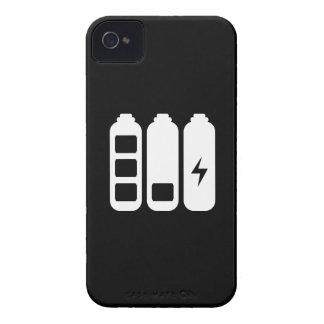 Caso de carga del iPhone 4 del pictograma iPhone 4 Case-Mate Funda