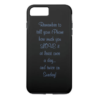caso de cáscara duro del iPhone Funda iPhone 7 Plus