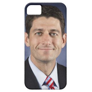 Caso de cáscara plástico flexible de Paul Ryan iPhone 5 Carcasa