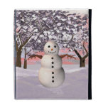 Caso de Caseable del invierno del muñeco de nieve