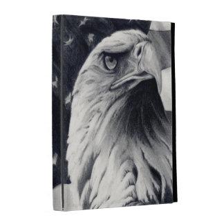 Caso de Caseable del iPad de Eagle y de la bandera