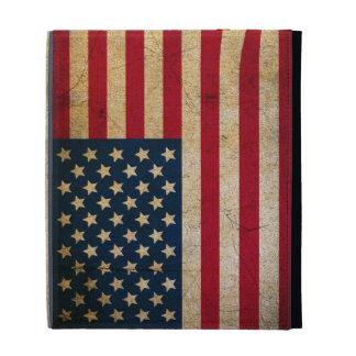 Caso de Caseable del iPad de la bandera americana