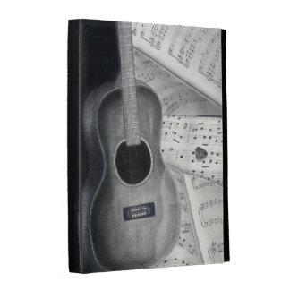 Caso de Caseable del iPad de la guitarra y de la p