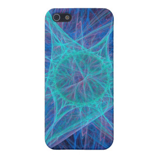 Caso de centro de Iphone de la sinapsis iPhone 5 Funda