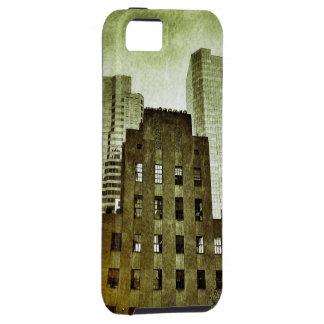 Caso de centro del iPhone 5/5s de Rockefeller del  iPhone 5 Carcasa