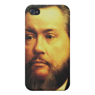 Caso de Charles H Spurgeon iPhone4, cierre encima  iPhone 4 Carcasas