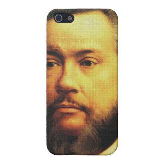 Caso de Charles H Spurgeon iPhone4, cierre encima  iPhone 5 Carcasa