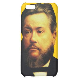 Caso de Charles H. Spurgeon iPhone4 en amarillo