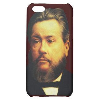 Caso de Charles H Spurgeon iPhone4 en Brown bendec
