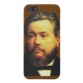 Caso de Charles H Spurgeon iPhone4 en chocolate iPhone 5 Protector