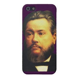 Caso de Charles H Spurgeon iPhone4 en la persevere iPhone 5 Cárcasas