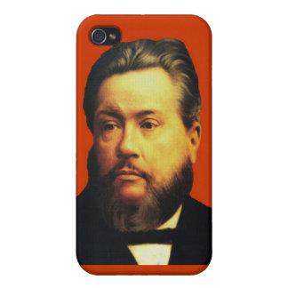 Caso de Charles H. Spurgeon iPhone4 en rojo iPhone 4/4S Carcasa