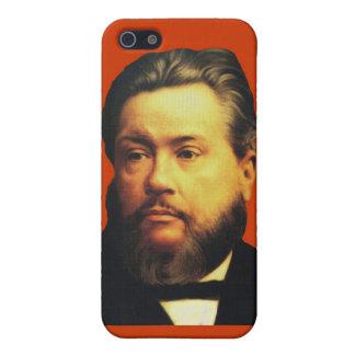 Caso de Charles H. Spurgeon iPhone4 en rojo iPhone 5 Funda